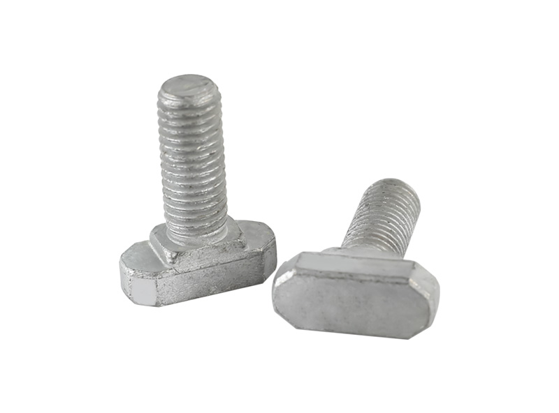 024 T Bolts ( steel 45K,  GR8.8  HDG )