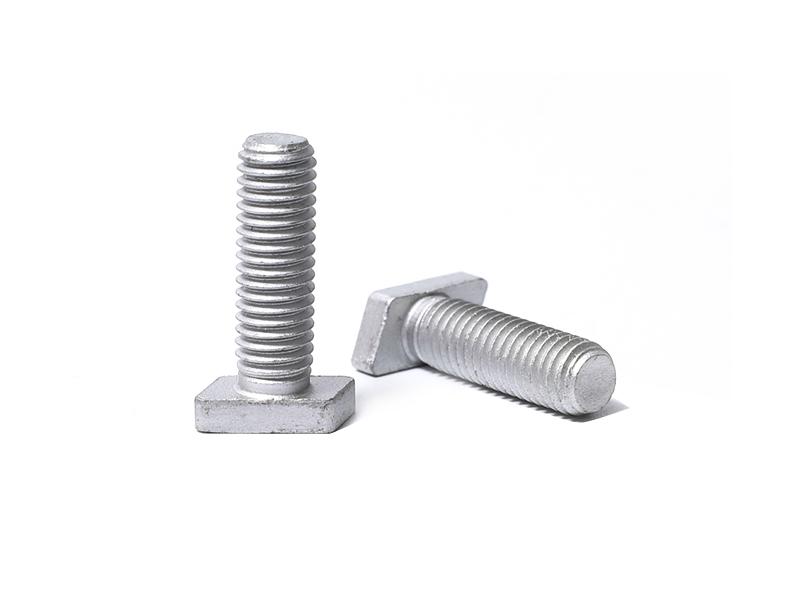 033 T Bolts ( steel 35K , GR8.8 , DACROMET )